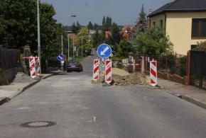 Dopravní omezení - Bolebořská