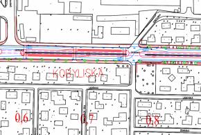 Návrh zastávky Kobyliská varianta I.